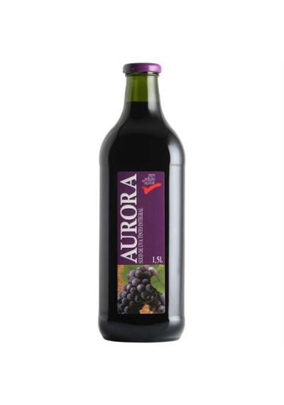 Suco de Uva tinto integral Aurora 1,5L