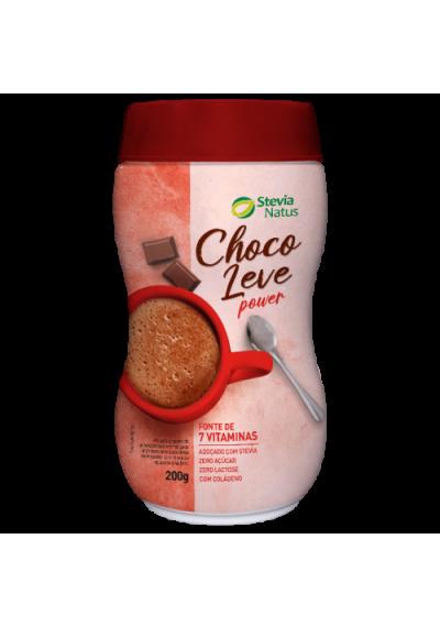 Achocolatado Choco Leve Power Stevia Natus 200g