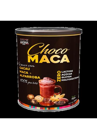 Choco Maca Cacau, Maca e Alfarroba 100% Puro Color Andina 200g