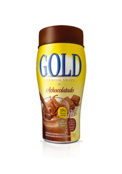 Achocolatado Gold Diet 210grs