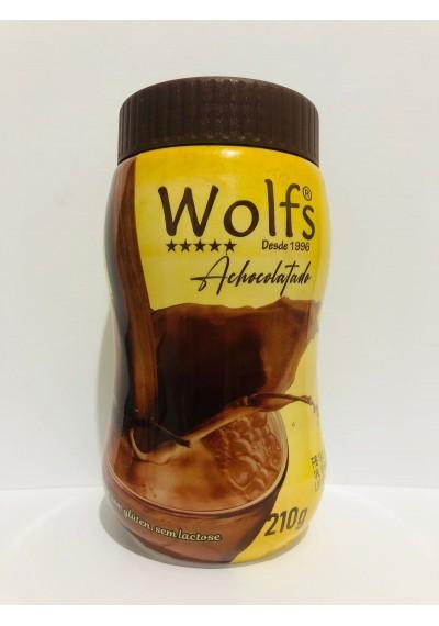 Achocolatado Zero Açúcar Sem Lactose e Sem Glúten Wolfs 210g