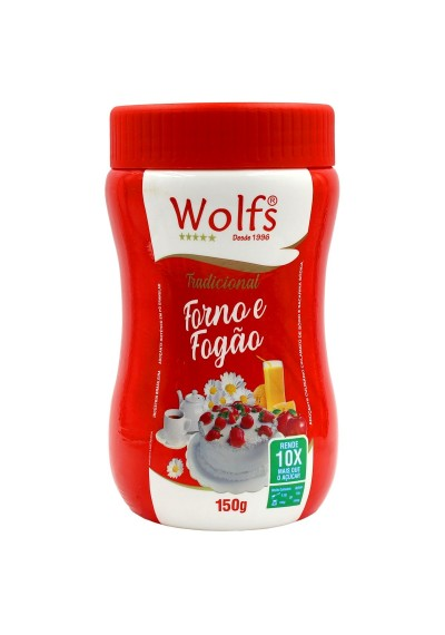 Adoçante Wolfs Forno e Fogão pote 150g