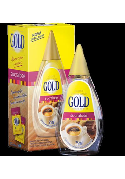 Adoçante Gold Sucralose Líquido 75mL