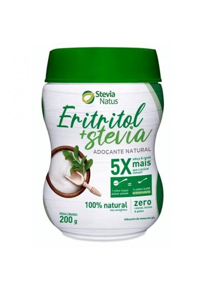 Eritritol Mais Stevia Adoçante Natural Stevia Natus 200g