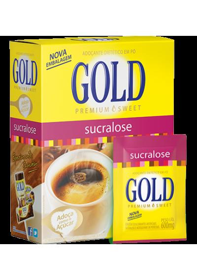 Adoçante Gold Sucralose 20CX Pó 30G (1.000 envelopes)