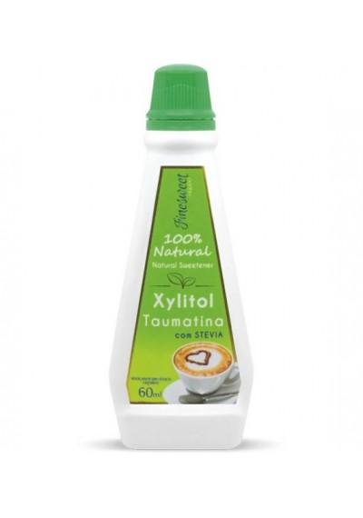 Adoçante xylitol Taumatina e Stevia Airon 60ml xilitol