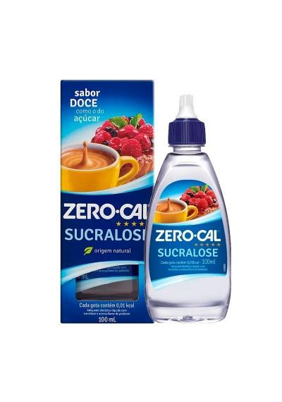 Adoçante Zero-cal Sucralose Liquido 100 ml