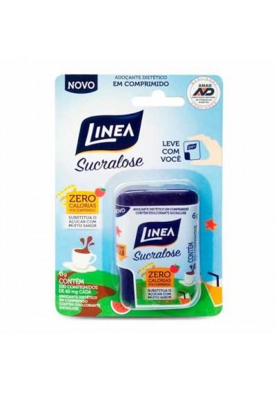 Adoçante Linea Sucralose 100 Comprimido de 60Mg