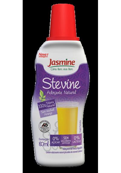 Adoçante Stevine Jasmine 80mL stévia pura