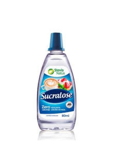 Adoçante Sucralose 80ml Stevia Natus