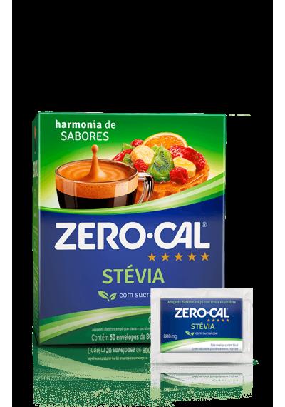 Adoçante Zero -cal Stevia com sucralose envelope