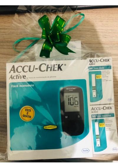 Accu-Chek Active 2x50 tiras gratis (aparelho)