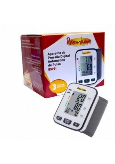 Aparelho Pressão digital pulso Premium BSP21