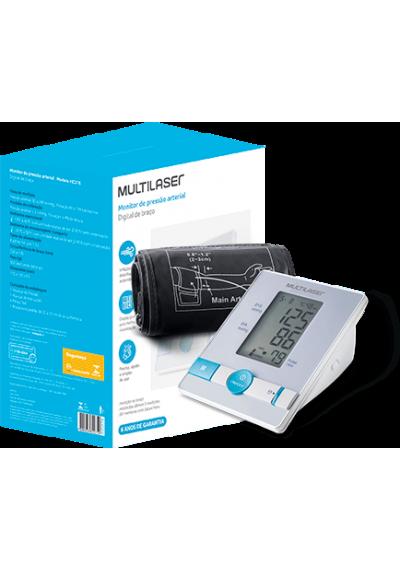 Monitor de Pressão Arterial de Braço Multilaser