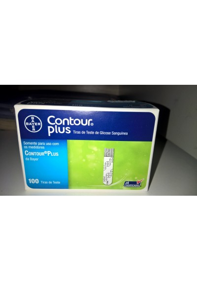 Contour Plus c/100 Fitas Bayer