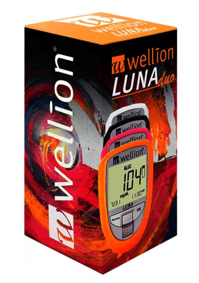 Monitor de Colesterol e Glicose Luna Duo