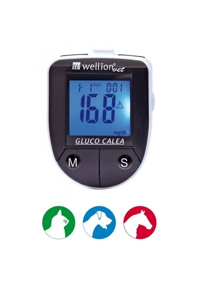 Monitor de Glicose para Animais Gluco Calea  Wellion