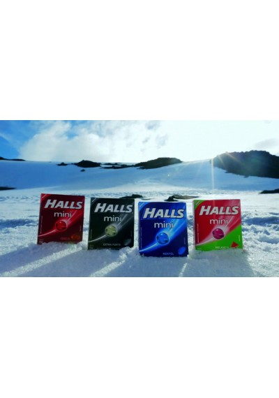 Bala Halls Mini Sem Açúcar 15g