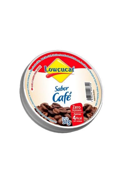 Bala Lowçucar sabor café 32g