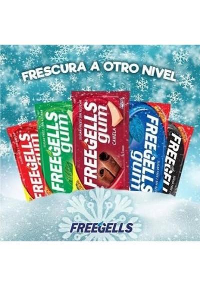 Cicletes Freegells gum c/ 5 unidades