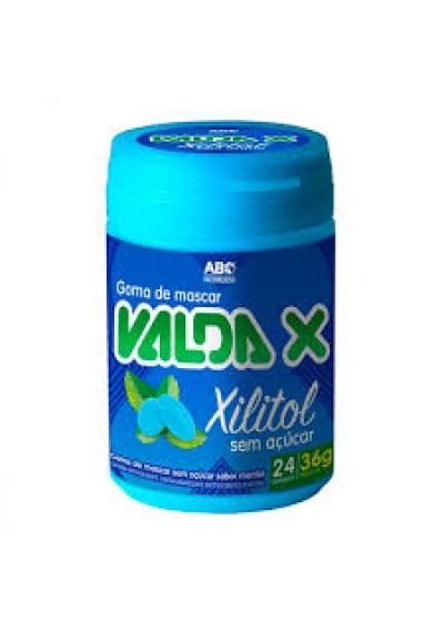 Goma de Mascar Valda X Com Xilitol 36g