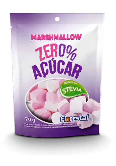 Marshmallow zero Açucar  70 grs