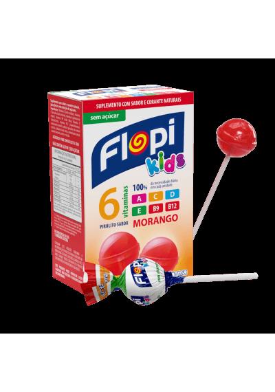 Pirulito Flopi caixa c/ 10 Unidades 50g
