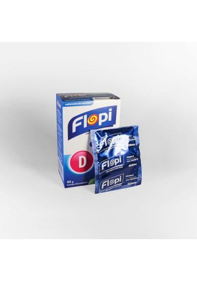 Bala Suplemento de Vitamina D Flopi 30Un 45g