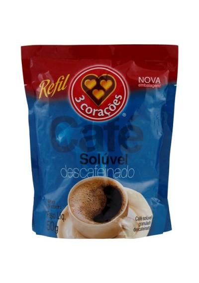 café solúvel granulado descafeinado 50grs