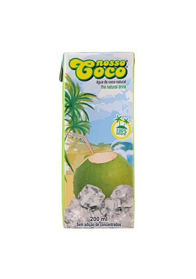 Água de Coco Esterilizada Nosso Coco 200mL