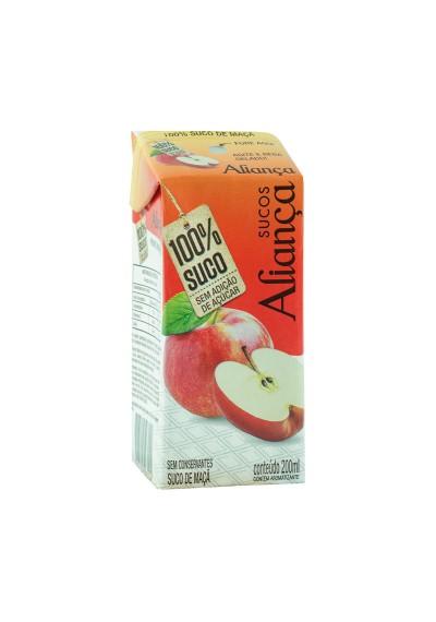 Suco Aliança 100% fruta 200ml