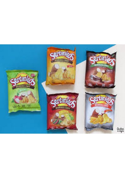 Sertanitaos Mandioca chips