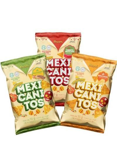Mexicanitos Salgadinho Milho Fhom 55grs