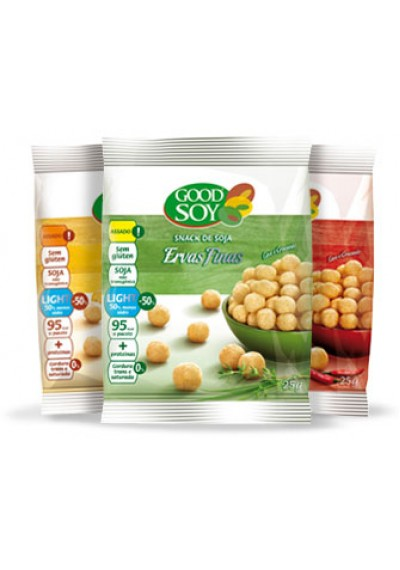 Snacks de Soja Good Soy 25g