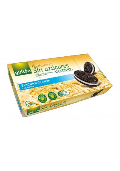 Biscoito Anadidos Sandwich chocolate recheado baunilha Gullon 210G