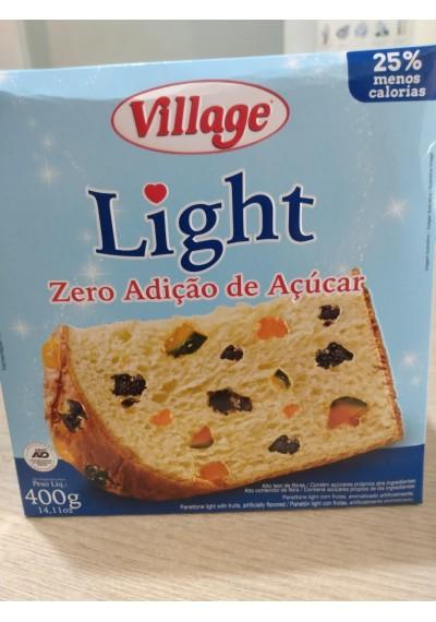 Panettone Village  Light Zero Açúcar 400g