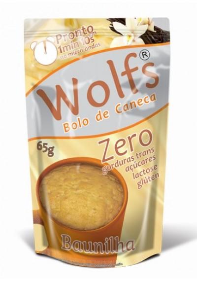 Preparo bolo de Caneca zero Wolfs 65g