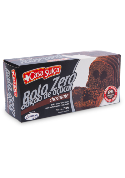 Bolo Zero Adição de Açúcar Casa Suiça 280g