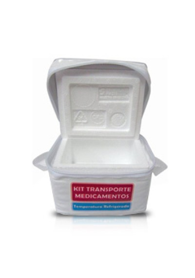 Kit transporte Medicamentos refrigerados