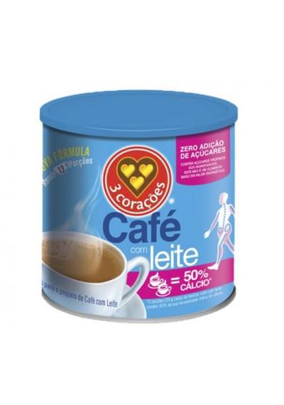 café com Leite zero 3 corações 265 grs