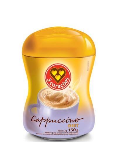 Cappuccino Diet 3 coraçoes 150 g