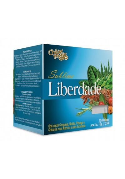 Chá Sublime Liberdade Chá Mais 10g