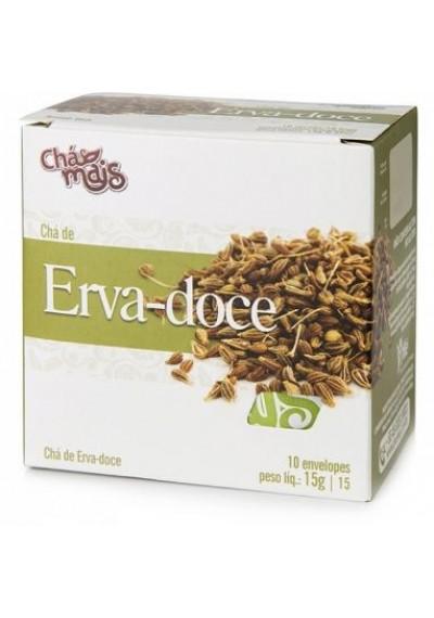 Chá de Erva - Doce 10 Sachês Chá Mais 15g