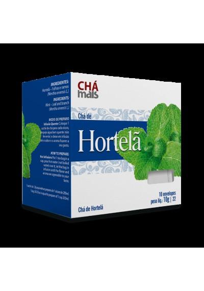 Chá  de Hortelã Cha Mais sache 10 envelopes