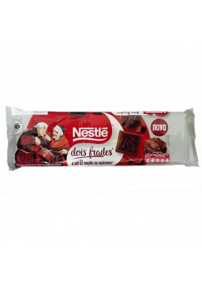 Barra  de Chocolate Dois Frades Nestlé Zero Açúcar 400g