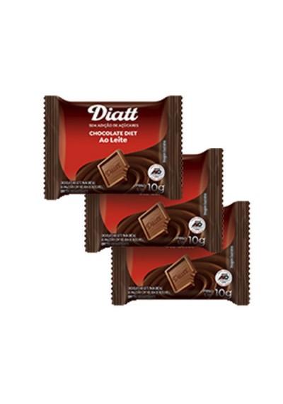 Chocolate ao Leite Zero Açúcar Diatt 10g