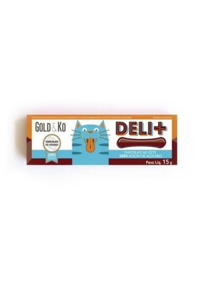 Chocolate Lingua de gato Deli+ 15 grs