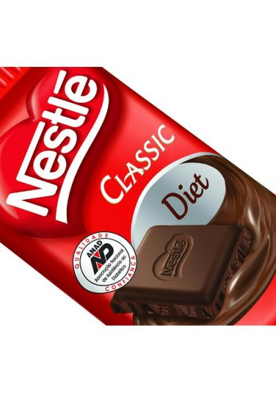 Chocolate Nestle Classic Diet 25g