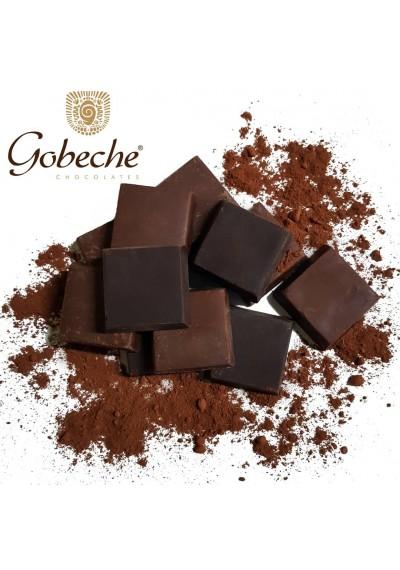 Tabletes de Chocolate Puro 54% Cacau ao Leite de Coco c/ Eritritol Gobeche 1,010 kg