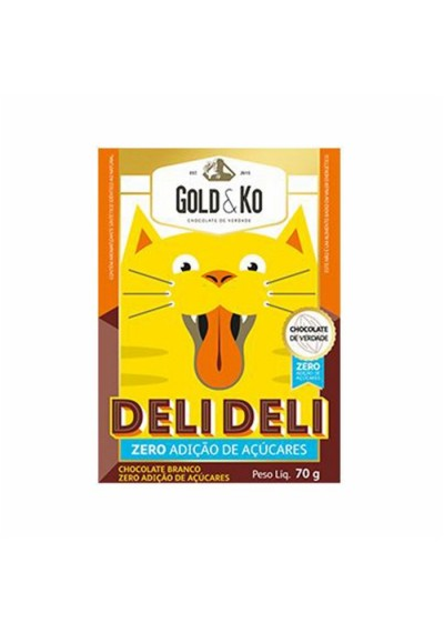 Chocolate GoldKo Deli deli 70g (Língua de gato)